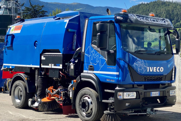 M-Recycling Bruneck - Kehrmaschine