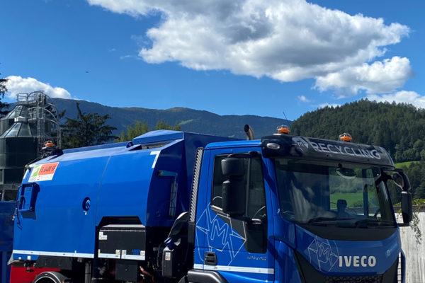 M-Recycling Bruneck - Fuhrpark - Kehrmaschine